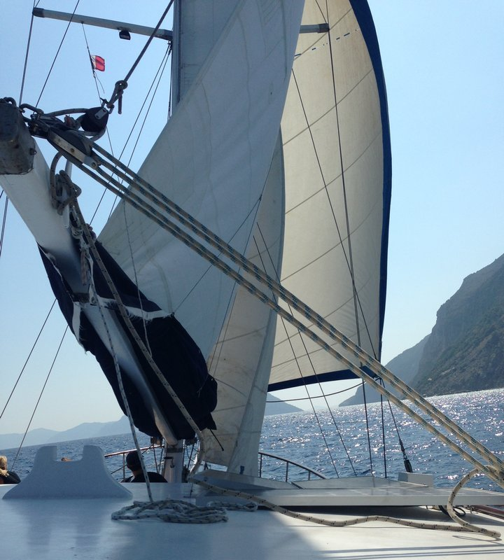 Sailing yachts in the Sporades & Ionian Seas