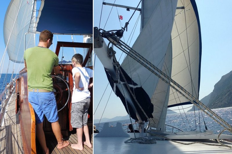Sailing the Sporades islands